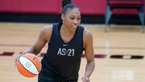 Laney's remarkable journey from waiver wire to first-time WNBA All-Star