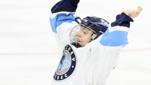 'Extremely competitive' prospect L'Heureux aims to emulate Tkachuk, Marchand