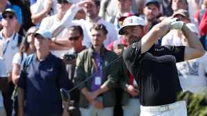 Leader Oosthuizen sets 36-hole record at The Open