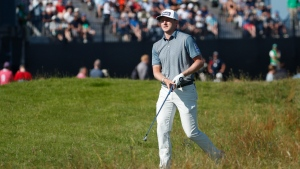 Hughes stays within striking distance at The Open