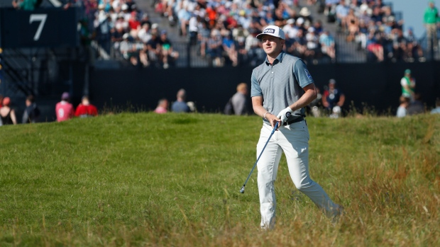 Hughes finishes inside Top 10 at Open Championship