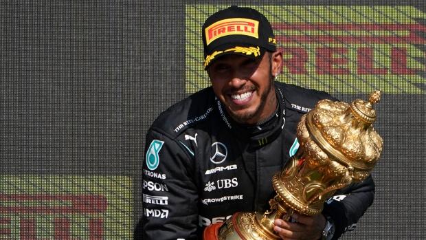 Hamilton comes from behind to win British Grand Prix
