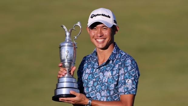 Morikawa wins Open Championship