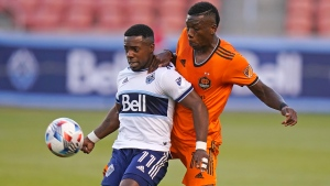 Vancouver and Houston finish in scoreless draw