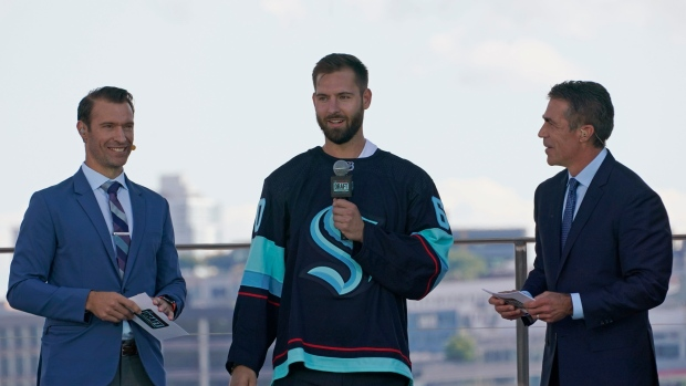 Kraken unveil picks from NHL expansion draft