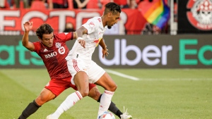 Teenage substitute Priso scores to give TFC tie with Red Bulls
