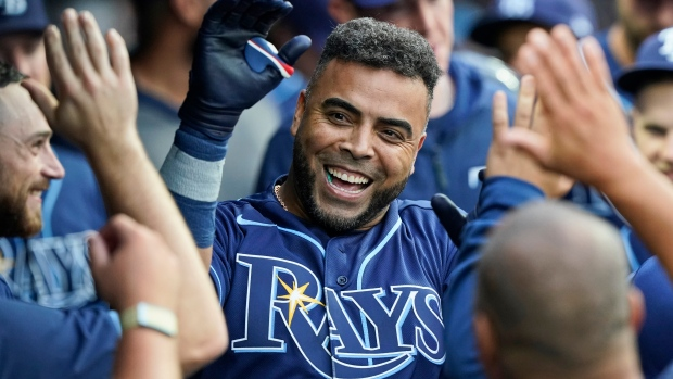 Cruz homers in Rays debut, Tampa Bay beats Cleveland