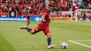 TFC's Pozuelo to miss another game after injury setback