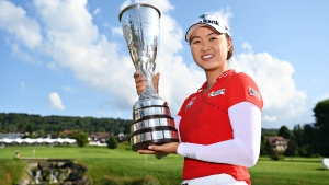 Minjee Lee wins Evian Championship in playoff