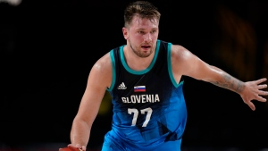 Doncic scores 48 points in Olympic debut as Slovenia beats Argentina