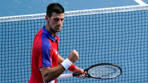Djokovic remains on course for Golden Slam
