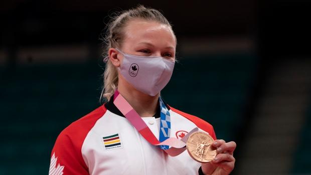 Klimkait wins bronze in women's 57kg judo