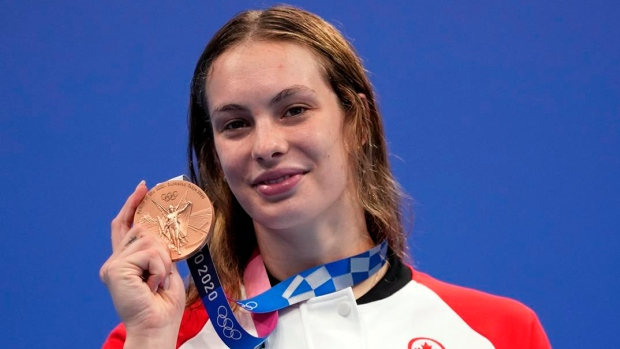 Oleksiak becomes Canada's most decorated Olympian