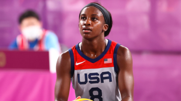 Jackie Young went from being on vacation to an Olympic gold medalist in 11 days