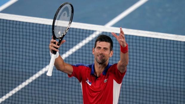 Djokovic dominates Nishikori, reaches Tokyo medal rounds