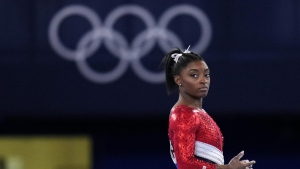 Biles shares final message as she wraps up her Tokyo Olympics