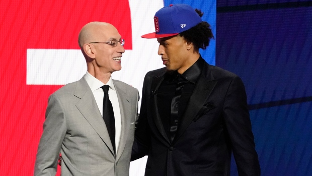 Pistons select Cunningham No. 1 overall