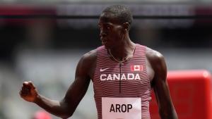 Canada's Arop races to third in 800m at Paris Diamond League meet