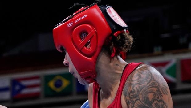 Tammara Thibeault Tokyo Olympics Boxing