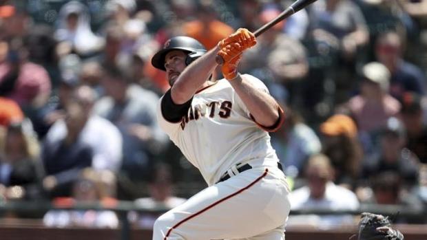 Giants hit 5 HRs, rough up Greinke, Astros