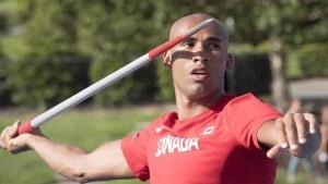 Canadian decathlete Warner reaping benefits of gruelling training in derelict arena
