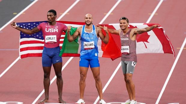 De Grasse runs 9.89 to win 100m bronze in Tokyo