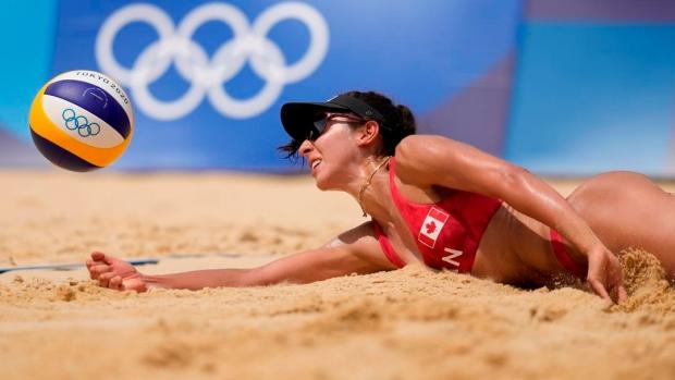 Canada's Pavan, Humana-Paredes make beach volleyball quarterfinals