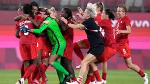 Canada earns historic soccer win over U.S.
