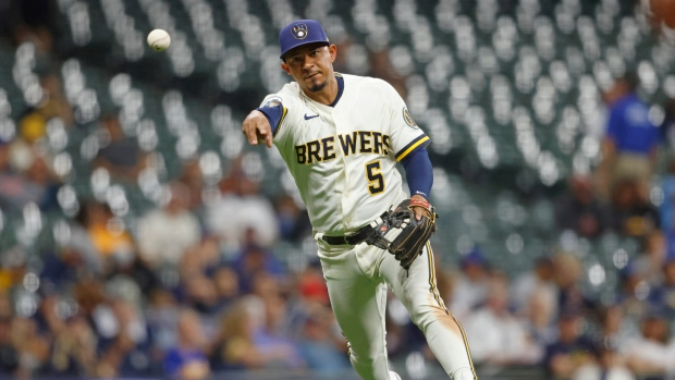 Eduardo Escobar Milwaukee Brewers Pittsburgh Pirates - TSN.ca