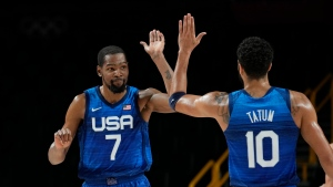 Durant scores 29 as United States tops Spain to reach Olympic semis