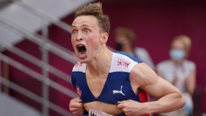 Warholm crushes world record for 400M hurdles in race for the ages