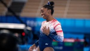 Biles returns to win bronze in balance beam; Canada's Black finishes fourth