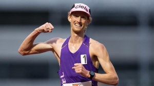 Canadian race-walker Dunfee has sights on podium in 50k event