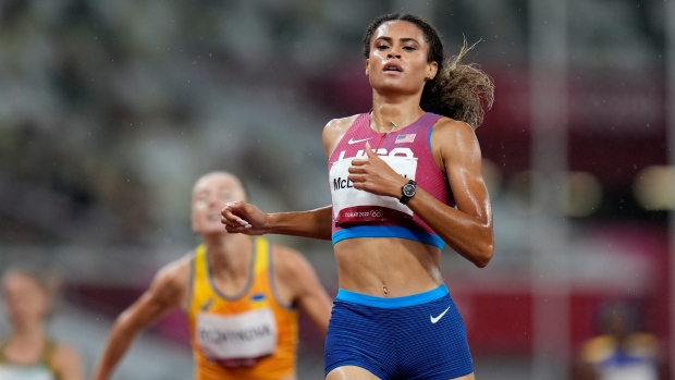 Tokyo Olympics Sydney McLaughlin Dalilah Muhammad 400m hurdles - TSN