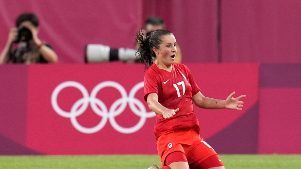 Canadians Fleming, Lawrence, Sinclair nominated for Ballon d'Or