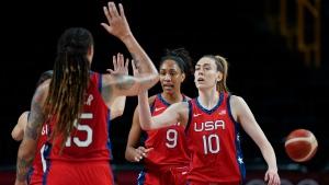 Stewart, Team USA rout Australia to advance to women's semis