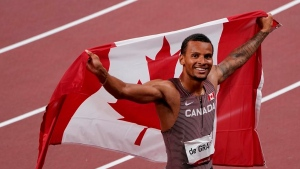 De Grasse's youth coach hopes Olympic win inspires young Canadians to pick up sport