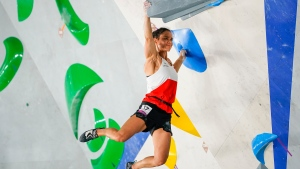 Canada's Yip eliminated from women's sport climbing, but savours Olympic journey