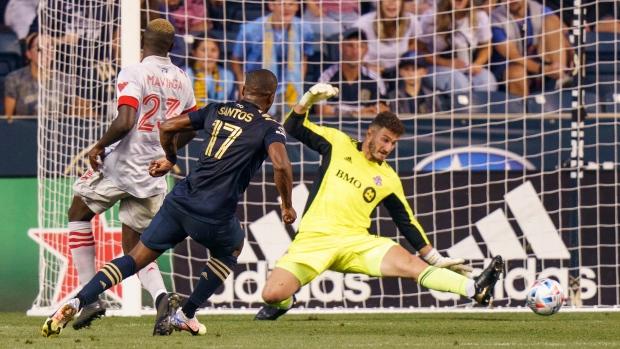 Toronto FC fall to Union; unbeaten streak snapped at five