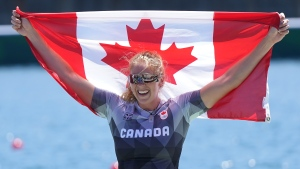 Canada's Vincent-Lapointe wins silver in C1 200-metre