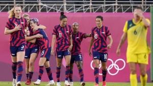 U.S. beats Australia for women's soccer bronze