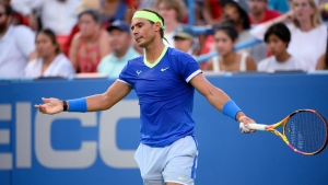 Nadal loses to 50th-ranked Harris in Washington; Auger-Aliassime also eliminated