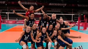 U.S. women's volleyball avenges loss to Serbia, reaches final