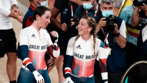 Kenny, Archibald win Olympic debut of women's Madison