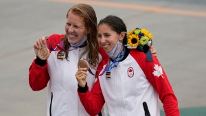 Canada races to canoe bronze to set new medal record