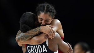 France beats Serbia for bronze medal in women's hoops