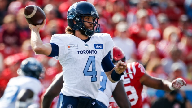 Injured Argos eye first in East facing Alouettes on TSN