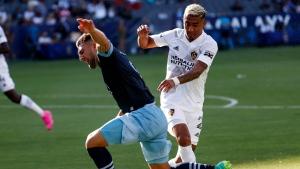Veselinovic's goal helps Whitecaps tie Galaxy
