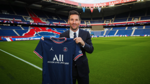 Messi says he's 'very happy' since arrival to PSG