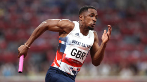 British 4x100m runner Ujah suspended for doping violation at Olympics